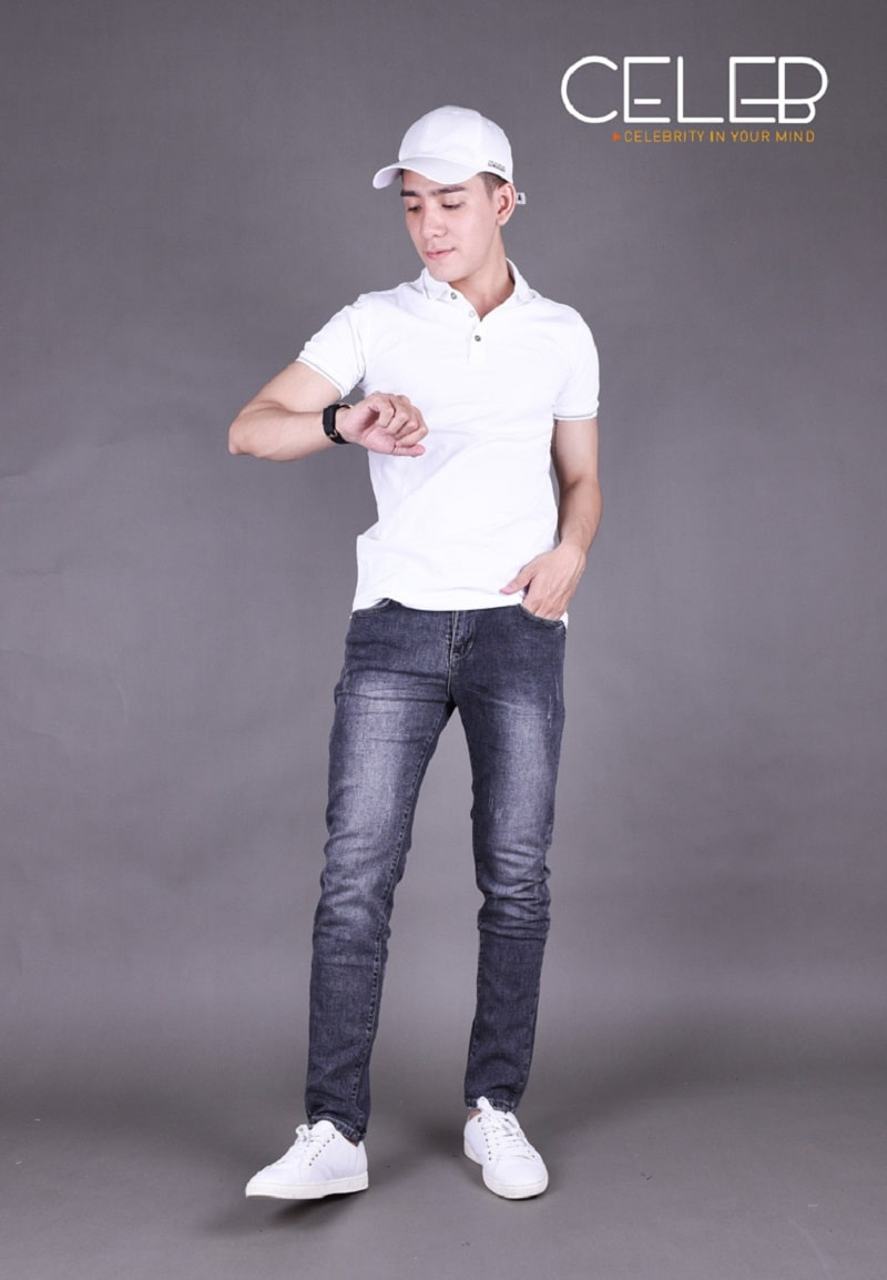 áo thun với quần jean